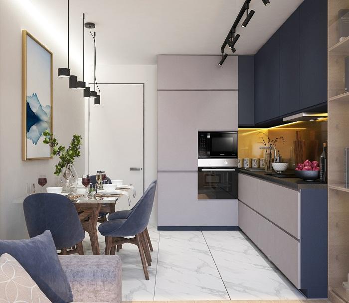 Male kuchyne v bytoch